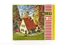 Lot 1810042 Faller B-221 Modernes Wohnhaus, Plastikbauweise, 1960-1976, OVP