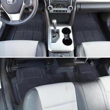 Rubber Liner for Chevrolet Equinox Floor Mats Black 3 PC Semi Custom Fit