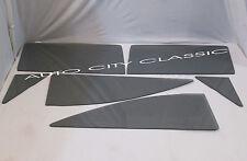 Auto Glass 1960 1961 Ford Starliner 2 Door Hardtop Vent Door Quarter Smoke Grey