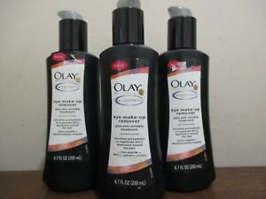 Lot of 3 Olay Regenerist eye make-up remover plus anti-wrinkle treatment 6.7oz