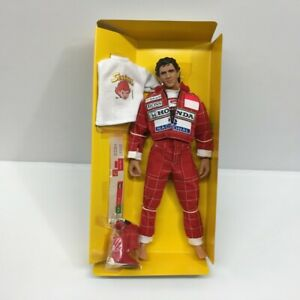 Takara Ayrton Senna 1/6 Scale Action Figure 1993 Suzuka GP w/SENNINHA Shirts