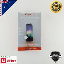ZAGG Glass Curve Elite for Samsung Galaxy S9+ Tempered Glass Screen Protector