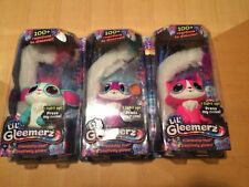 Lil' Gleemerz Complete Set Light Up Interactive Loomur Adorbrite Amiglow