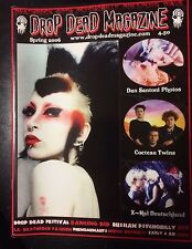 DROP DEAD MAGAZINE 1 Cocteau Twins Xmal Deutschland 4 AD Post Punk Klaus Nomi ++