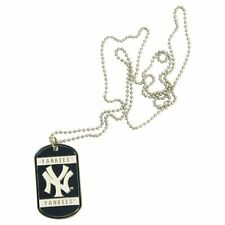 New York Yankees Necklace with Dog Tag