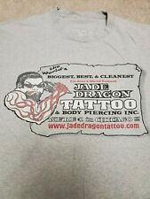 Jade Dragon Tattoo shop shirt XL Chicago