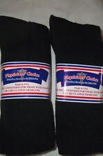 Physicians Choice Diabetic 13-15-Black-Crew  Cushioned Socks 12-pr.