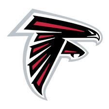 "Atlanta Falcons Decal Indoor - Outdoor - Car-  Truck - Window 4.0""x4.0"""