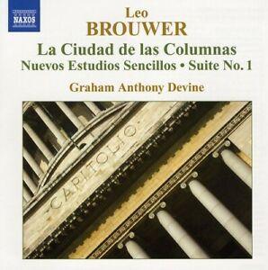 Guitar Music 4 / la Ciudad de Columnas / Nuevos BROUWER,LEO Music CD