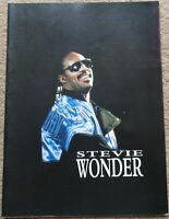 Stevie Wonder 1987 Tour programme