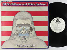Gil Scott-Heron & Brian Jackson - It's Your World 2xLP - Arista PROMO