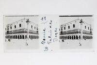 Venezia Palais Dei Doge Italia Foto Stereo T2L9n38 Placca Da Lente Vintage