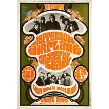 1967 Jefferson Airplane/Grateful Dead O'Keefe Centre, Toronto Vintage Concert Ad