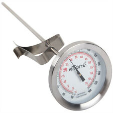 Darkroom Chemical Thermometer Dial Stainless Steel Wall Clip For Film Processing