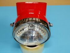 Honda s90 cl90 ct90 head light and housing bucket (RED)