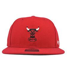 Chicago Bulls CENTERFIELD Mini Logo Snapback 47 Captain NBA Hat
