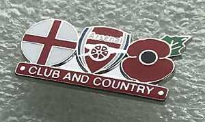 Arsenal Supporter Enamel Badge Very Rare - Wear With Pride