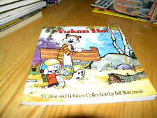 1989 Calvin and Hobbes Yukon Ho by Bill Watterson Pb Comic Strip Book