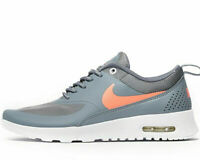 Nike Air Max Thea GS ® ( UK Size 3.5  EUR 36 ) Cool Grey / Lava Glow / White NEW
