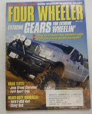 Four Wheeler Magazine Jeep Grand Cherokee & Ford Sport Trac July 2001 051615R2