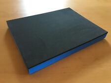 Koffereinlage aus Hart-Schaumstoff f. Sortimo Metallkoffer KM 320 grau-blau 30mm