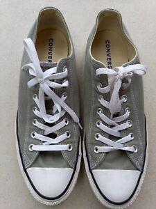 Grey Canvas Converse Size 12