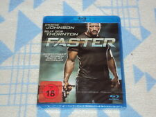 Faster [Blu-ray]  Dwayne Johnson  NEU OVP