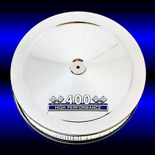 Air Cleaner for 400 Ford M Engines 14 Inches in Diameter 3 Inches Tall Chro