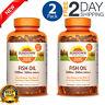 2X Nature Made Fish Oil, 200 Softgels, 1200mg, 360mg Omega-3, Gluten Free