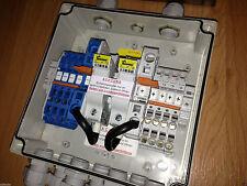 Solar Anschlusskasten 6 Strings mit 2 St. 10A Sicherungen GAK Verteilerkasten