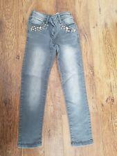 Next Grey Skinny Jeans With Sparkle Age 7