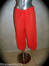 pantalon court plage ERES fred T 40  NEUF ÉTIQUETTE  ** GRAND LUXE ** val 190€