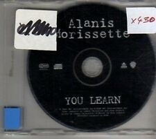 (CP806) Alanis Morissette, You Learn - 1996 DJ CD