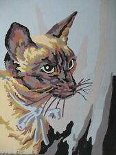 Siamese Cat   Paint By Number  Refrigerator / Tool  Box  Magnet