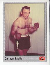 CARMEN BASILIO Boxing Boxer 1991 AW SPORTS INC. CARD #49