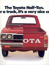 1973 Toyota Half Ton Pickup Truck Sales Brochure mw3905-5OI1Y9