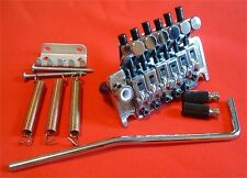 Guitar Parts FLOYD ROSE Locking Tremolo Bridge - Push In Bar - CHROME