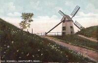 Postcard Old Windmill Nantucket MA