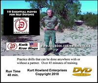 10 Essential Self Defense Moves, Practice Routine that can be done alone. DVD