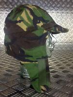 Genuine British Army Goretex MVP Woodland DPM Dog/Trapper Hat with Ear Flaps NEW