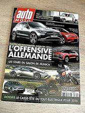 REVUE  AUTO MOTO  N° 305 -  SEPTEMBRE   2021  /  L'OFFENSIVE  ALLEMANDE