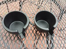 2000 - 2001 Ford Focus Front Cup Holder Inserts PAIR
