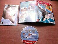 Sony PlayStation 2 PS2 CIB Complete Tested Ace Combat 4 Shattered Skies Ships
