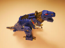 Transformers G2 Grimlock Blue 1993 Dinobot Vintage - Missing 1 Tail Piece - Used