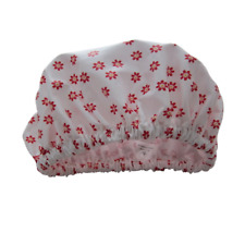 Shower Cap for Kids waterproof Laminated cotton Daisy flowers