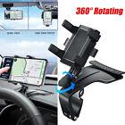 Car Multifunctional Mobile Phone Bracket 360 Degree GPS Stand Phone Holder US