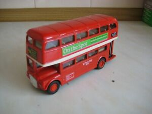 WELLY AEC ROUTEMASTER RED LONDON BUS