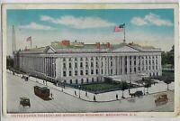 Postcard United States Treasury Washington DC Color 1918 Postmark