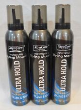 3 Xtracare Professional Styling Mousse Ultra Hold 7 Oz
