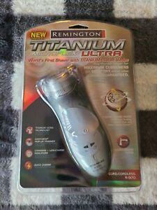 SEALED Remington R-9170 R 9170 Titanium Men's Electric Shaver Cordless / Cord